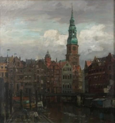 Leonhard SANDROCK - Painting - St. Katharienkirche Hamburg