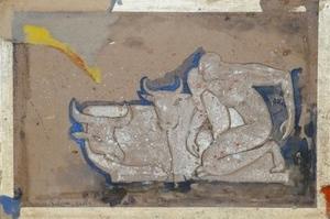 Jacob GILDOR - Painting - Taurus II