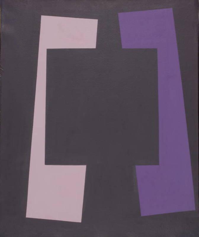 Augusto GARAU - Painting - Quadrato anomalo
