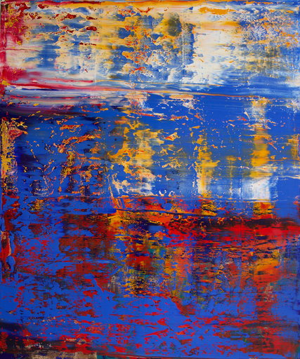 Harry James MOODY - Peinture - Fragmented Abstract No. 410