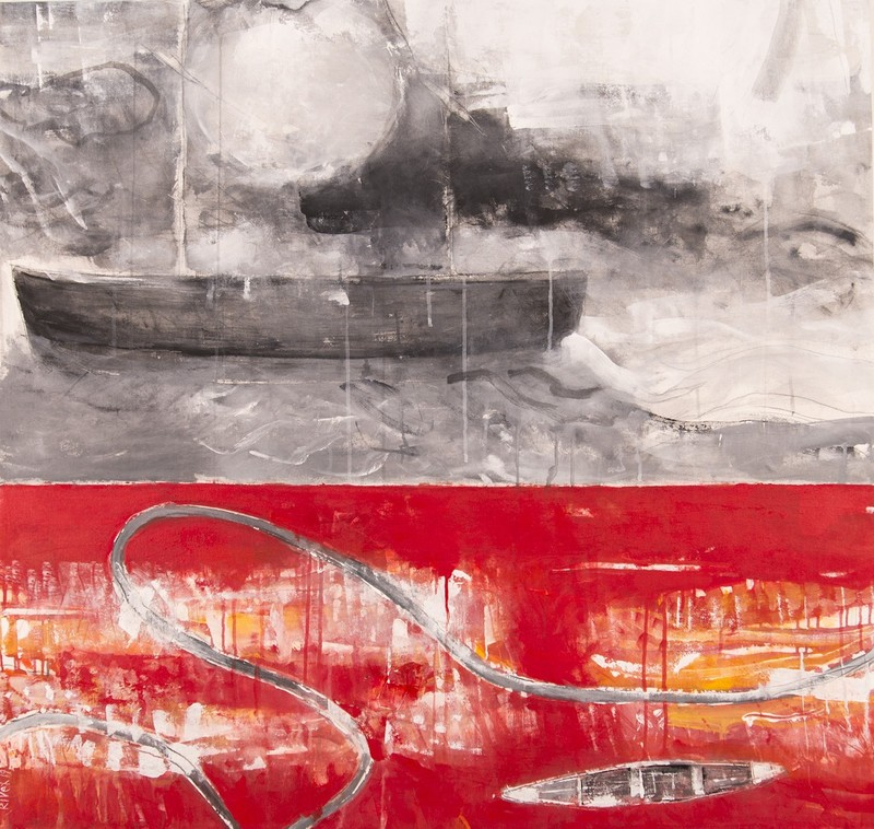 Rick RIVET - Pittura - Northwest Passage No 10