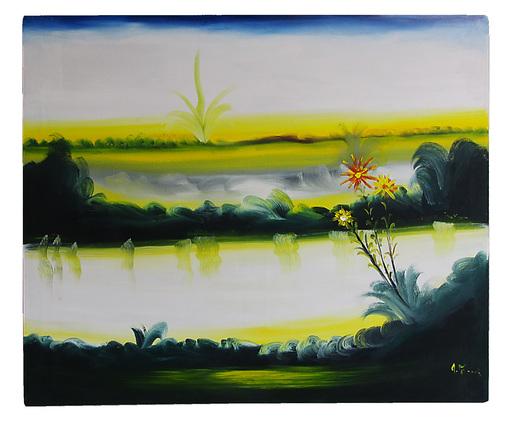 Antonio MASTRONUNZIO - Painting - paesaggio