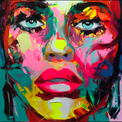 Françoise NIELLY - Painting - MARBELLA