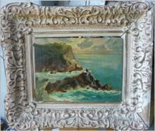Angelo BALBI - Pintura - Vista costera (2)