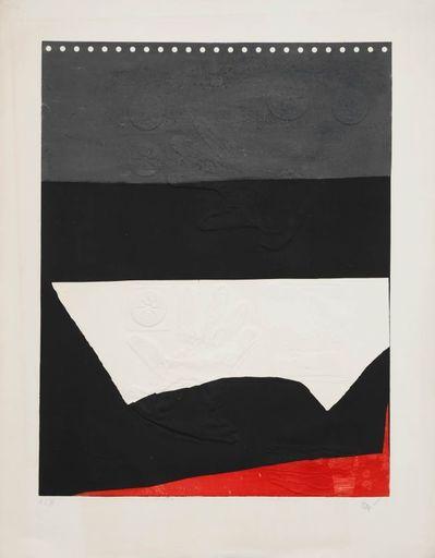 Antoni CLAVÉ - Druckgrafik-Multiple - Gris Noir