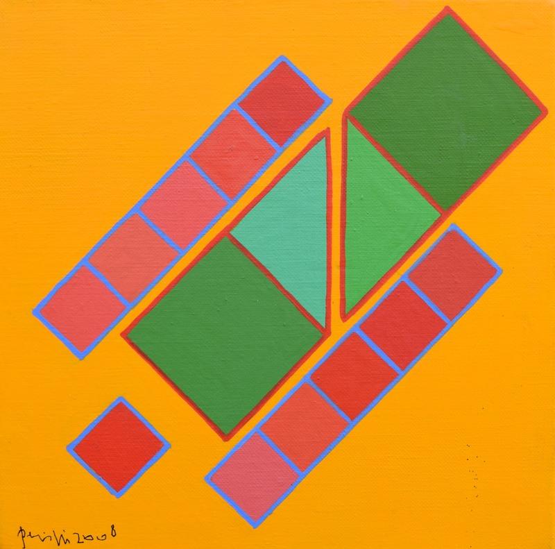 Achille PERILLI - Pintura - Fai