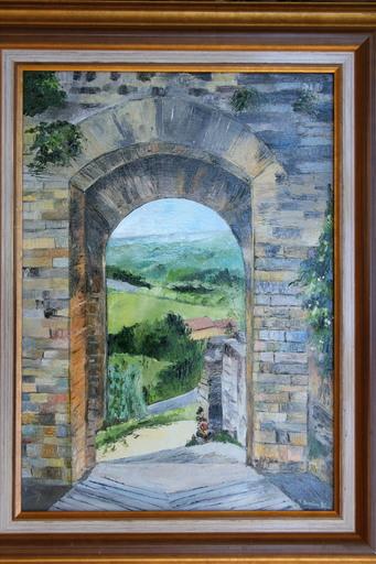 Monique DEVALOIS - Peinture - Monteriggioni (Porte)