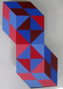 Victor VASARELY, Steele