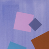 Milly RISTVEDT - Painting - Periwinkle Grid Play