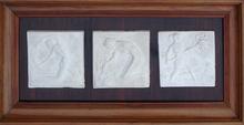 """Ernest GABARD - Sculpture-Volume - """"Triptyque"""""""