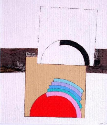 Eugenio CARMI - Painting - Nuovo piccolo ossimoro