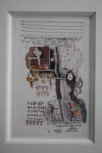 Jean Olivier HUCLEUX - Dibujo Acuarela - Sans titre