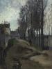卡米耶•毕沙罗 - 绘画 - Le Chemin, Paysage Hivernal