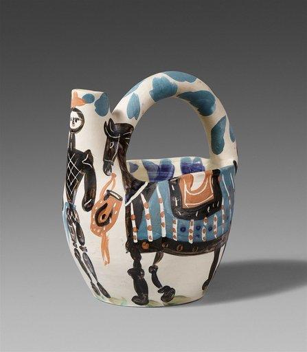 Pablo PICASSO - Ceramiche - Cavalier et cheval