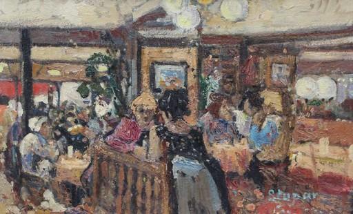 Marko STUPAR - Pittura - café Parisien