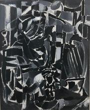 André LANSKOY - Peinture - L´enseigne d´un bougnat
