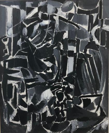 André LANSKOY - Painting - L´enseigne d´un bougnat
