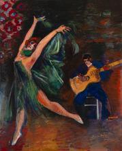 Jean DUFY - Pittura - La danse
