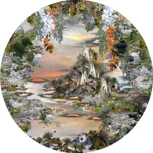 Jane WARD - Painting - PORTAL NO.9
