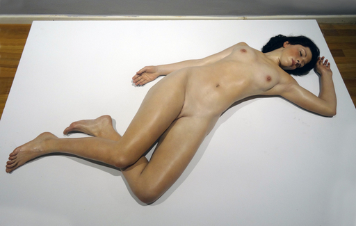 John DE ANDREA - Skulptur Volumen - Lisa
