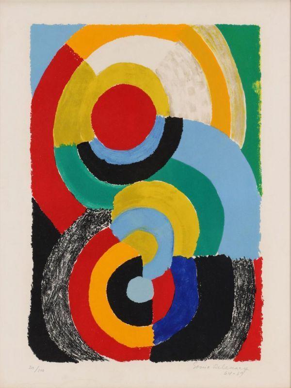 Sonia DELAUNAY-TERK - Print-Multiple - Rencontre