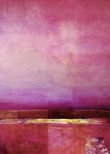 Marcel CALOÏAN - Pittura - Paysage métaphysique...