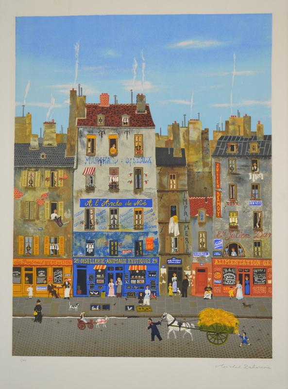 Michel DELACROIX - Print-Multiple - L'Arche De Noe