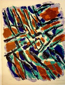 Jean LE MOAL - Print-Multiple - Abstraction