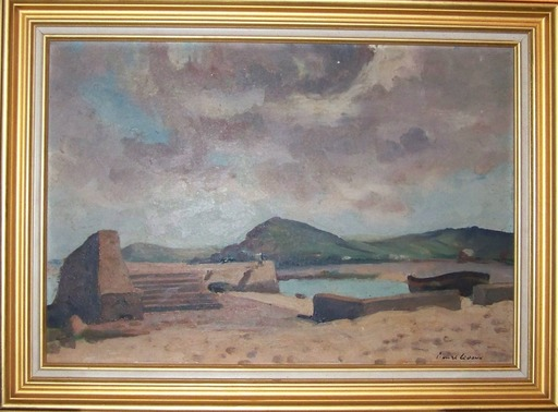 Charles PICART LE DOUX - Painting - paysage