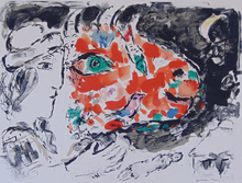 Marc CHAGALL - Print-Multiple - After Winter, from: Beyond the Mirror
