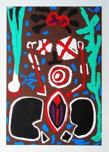 A.R. PENCK - Estampe-Multiple - Keramik