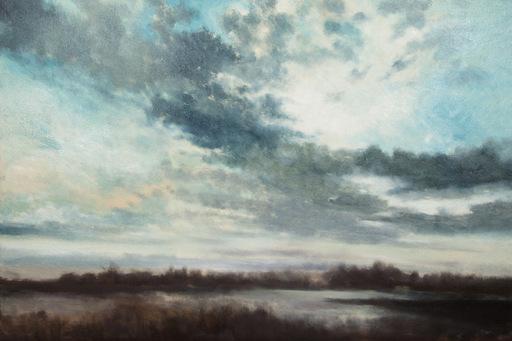Franck BAILLEUL - Gemälde - Les Marais de Blanchelande