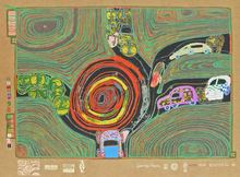 Friedensreich HUNDERTWASSER (1928-2000) - Crusade of the Crossroaders