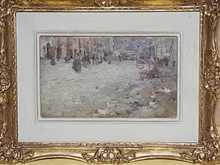 Giuseppe DE NITTIS - Pintura - Giosi di Napoli