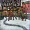 Valeriy NESTEROV - Pittura - Taganka district. Moscow