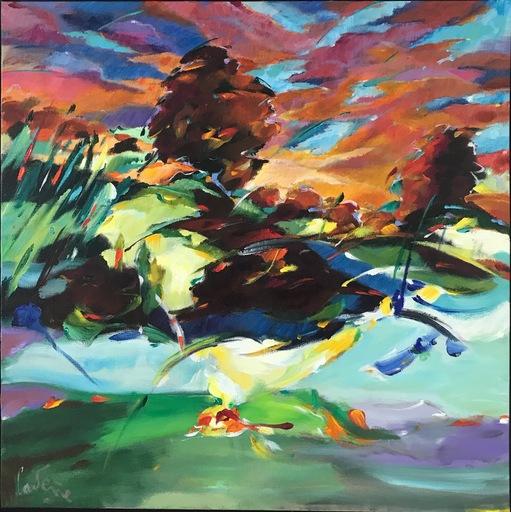 Bernard CADENE - Peinture - Retour de l'île de Ré
