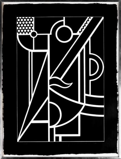 Roy LICHTENSTEIN - Estampe-Multiple - Modern Head 3