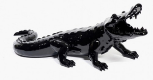 Richard ORLINSKI - Sculpture-Volume - Born wild crocodile noir