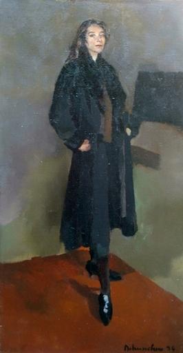 Christoff DEBUSSCHERE - Pintura - Portrait de Catherine