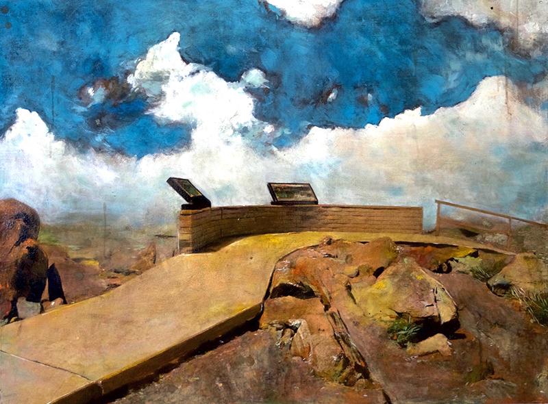 Ayline OLUKMAN - Pittura - Observatory