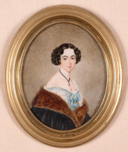 Adolf THEER - Miniature - Portrait Miniature
