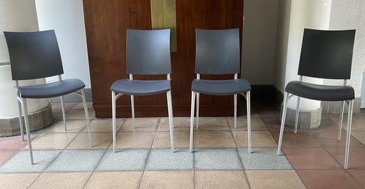 Philippe STARCK - Série de 4 chaises - Starck - 1990