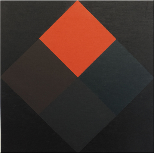 Ode BERTRAND - Gemälde - Les angles noirs couleurs