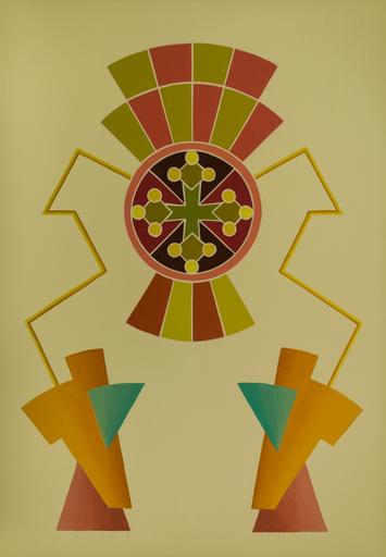 Enrique Rodriguez GUZPENA - Painting - Apunte de víspera ciega