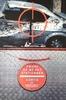 Peter KLASEN - Peinture - sortie de voiture /cible