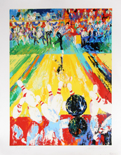 LeRoy NEIMAN - Print-Multiple - Million Dollar Strike (Earl Anthony)