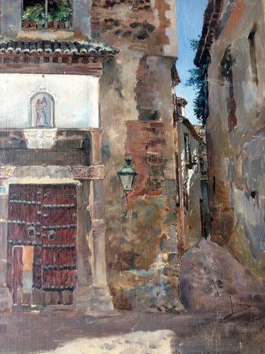 José VERA GONZALEZ - Gemälde - Tolede -  Toledo -  à U. Checa