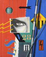 Peter KLASEN - Pintura - Black Eye V28