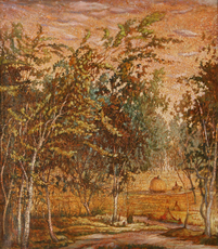 Nadezhda ALKSEEVA-BLINOVA - Painting - Haymaking