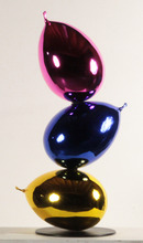Philippe BERRY - Sculpture-Volume - TOTEM 3 BALLONS